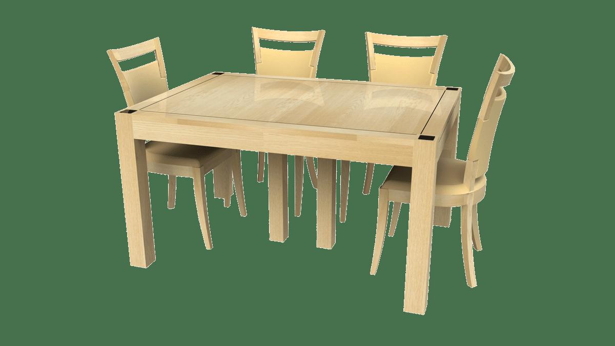 Table Chêne clair